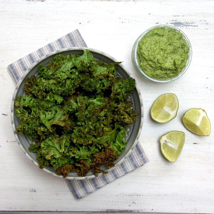 kale chips recipe deliciously ella Kale Chips - DeliciouslyElla