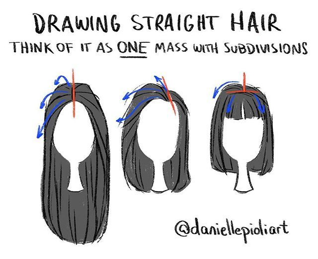 Instagram Photo By Danielle Pioli Jun 6 2016 At 6 33pm Utc How To Draw Hair Drawing Tips Straight Hairstyles