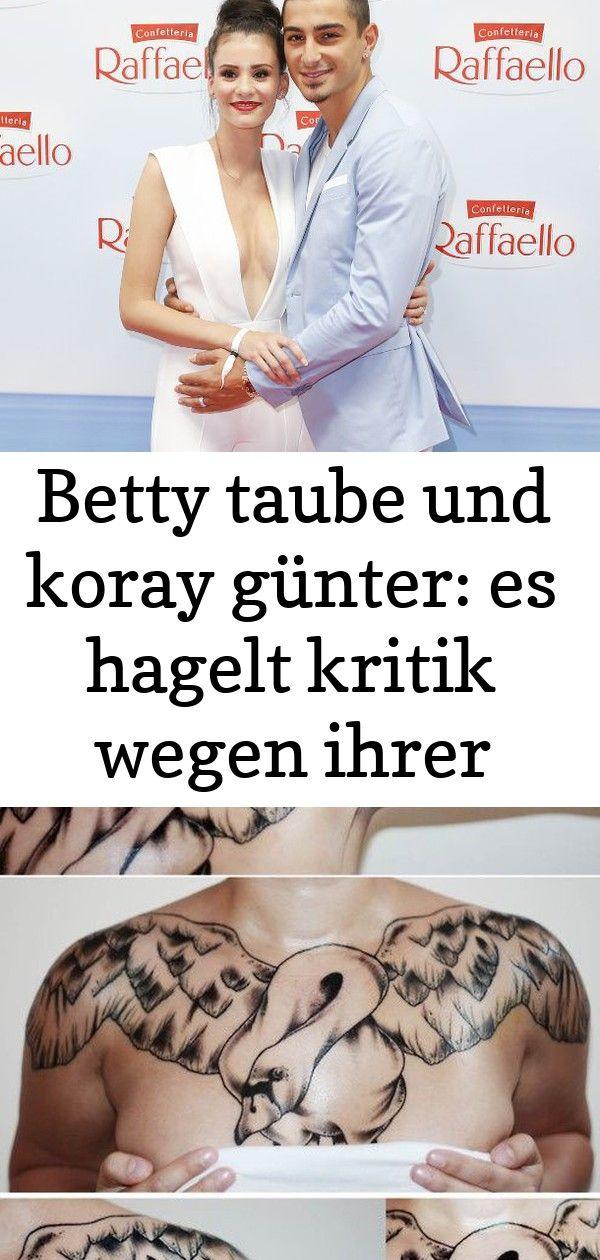 Photo of Betty taube und koray günter: es hagelt kritik wegen ihrer liebes-tattoos 8