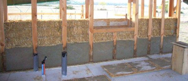 Construire en paille construction pinterest pailles for Sous produit du chanvre