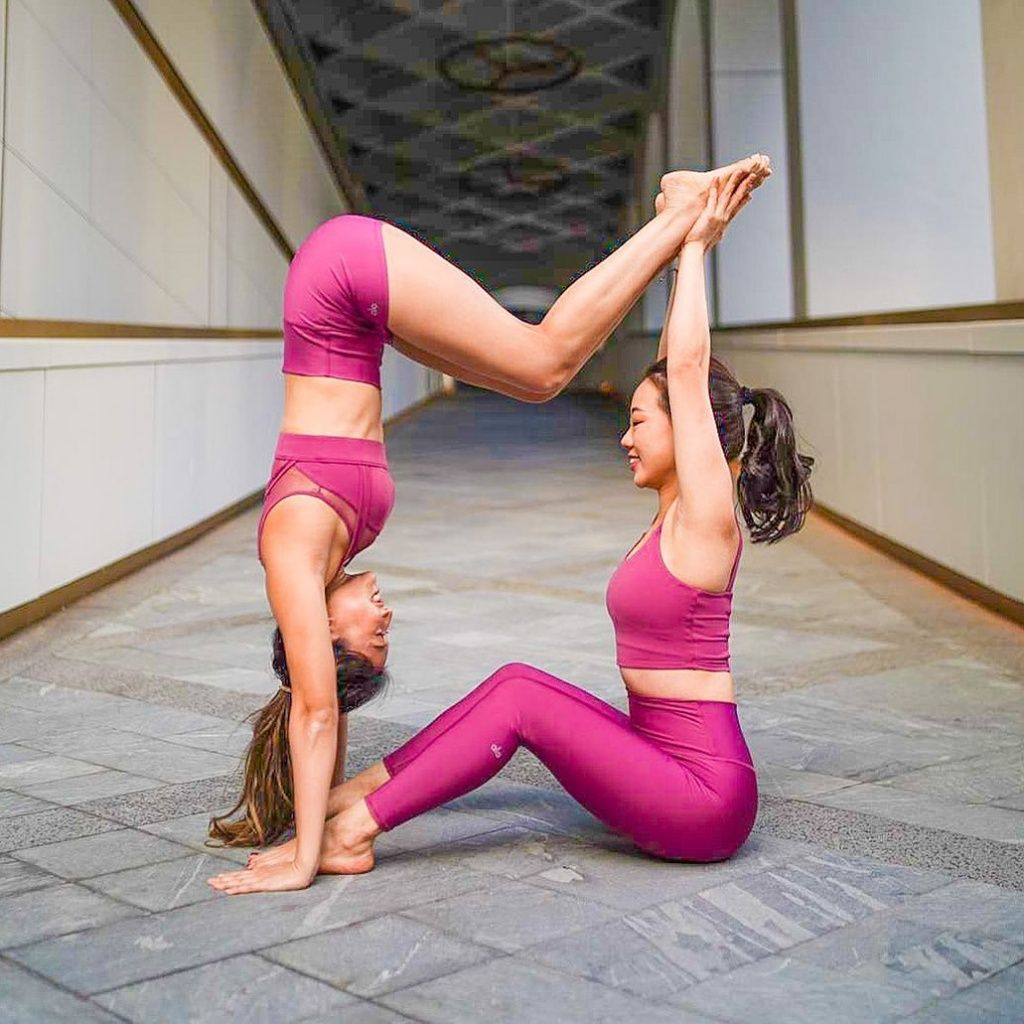 Easy Beginner Two Person Yoga Poses