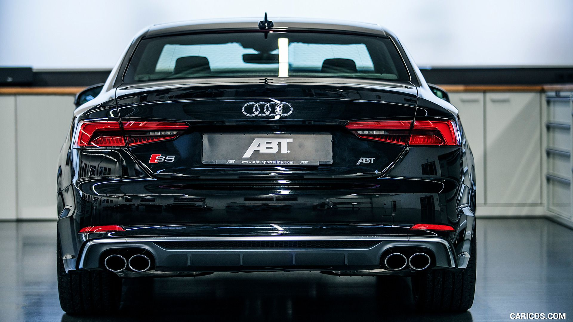The abt audi middle class car top class performance