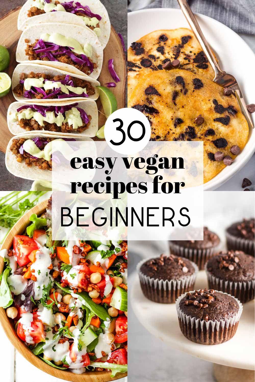 30 Easy Vegan Recipes For Beginners Karissa S Vegan Kitchen In 2020 Vegan Recipes Easy Vegan Recipes Beginner Vegan Recipes Easy Quick