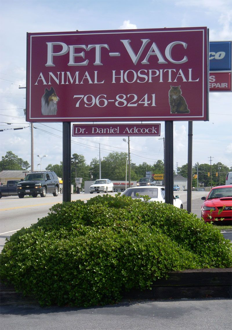General Information Animal hospital, Pet vac, Vac