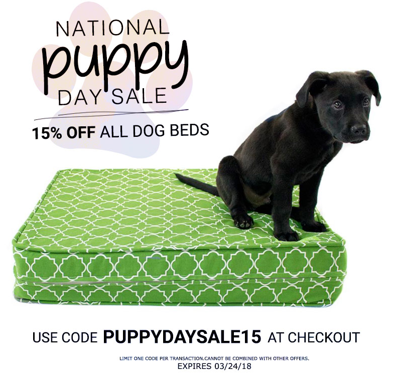 In Honor Of Nationalpuppyday We Are Offering 15 Off On Our Entire Luxury Dog Bed Collection Do Something Nice For Orthopedic Dog Bed Dog Bed Dog Bed Luxury