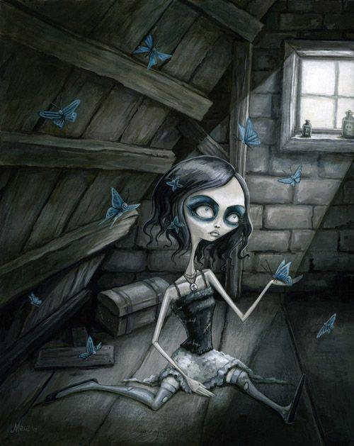 Butterflies in the attic by megan majewski by Megan Mejewski