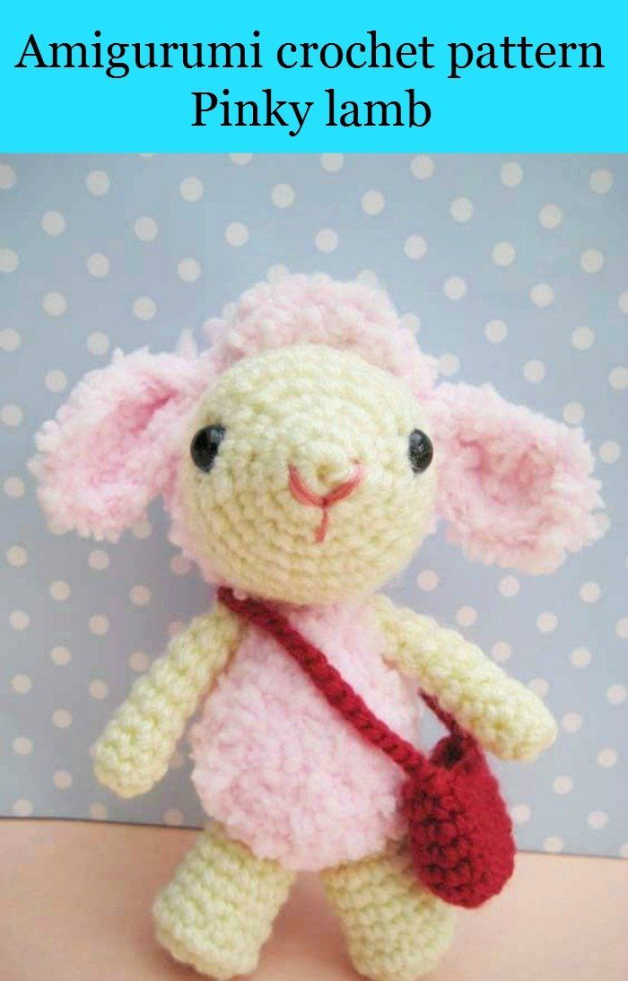Pink Little Lady Amigurumi Crochet Pattern by Sayjai ... | 1093x700