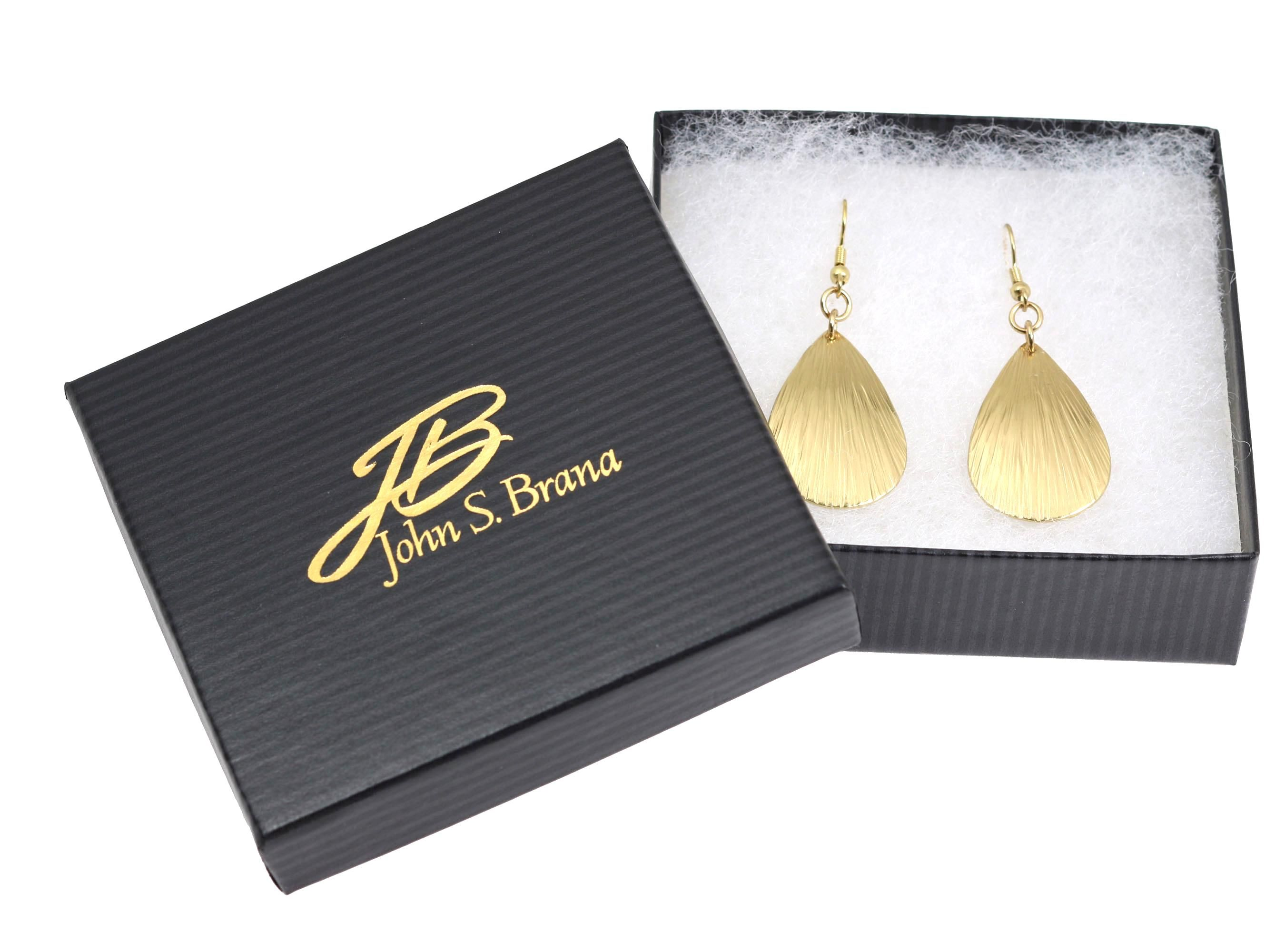 Over 30% OFF Striking Small Brass Bark Tear Drop Earrings Listed on #AmazonPrime #Earrings http://www.amazon.com/dp/B01A4MZZK8