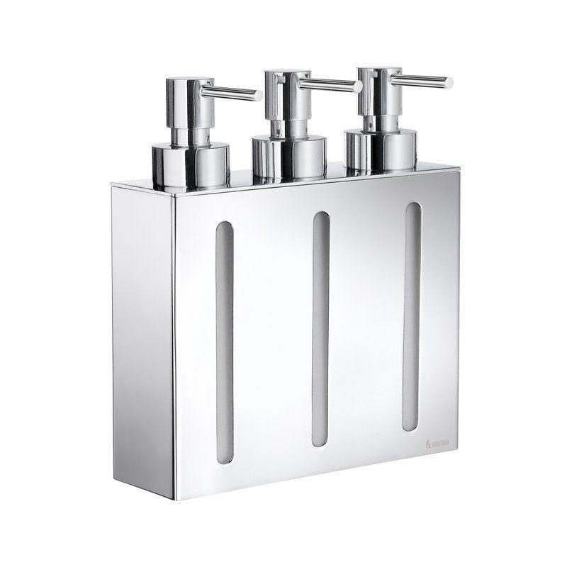 Delmore Glass Pump Soap Dispenser In 2019 Shampoo