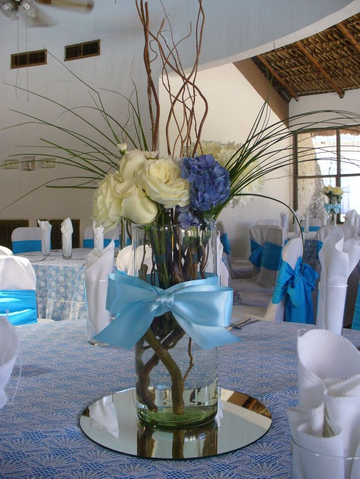 Baptism centerpiece ideas bautizo christening
