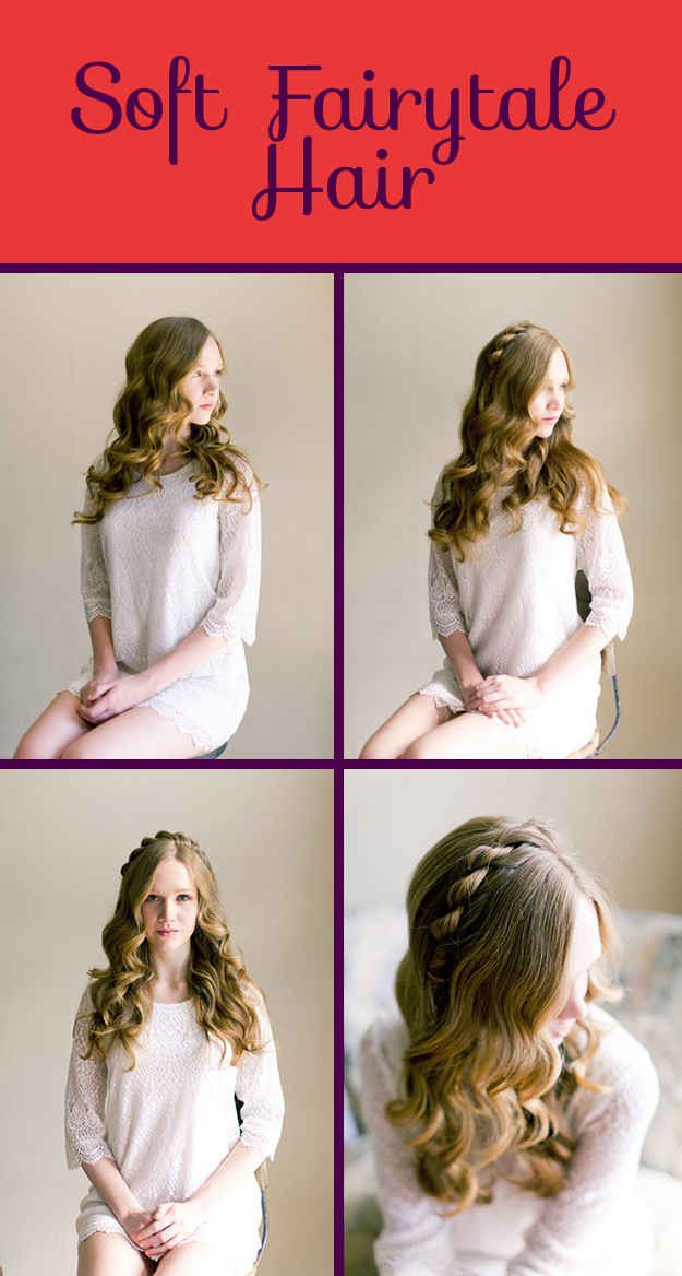 26 Diy Hairstyles Fit For A Princess Hair Make Up Pinterest