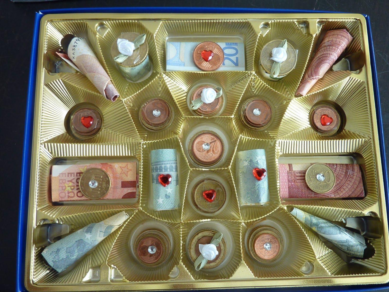 Geldgeschenk Münzen Verpacken Hochzeitsgeschenke Geld Basteln Neu