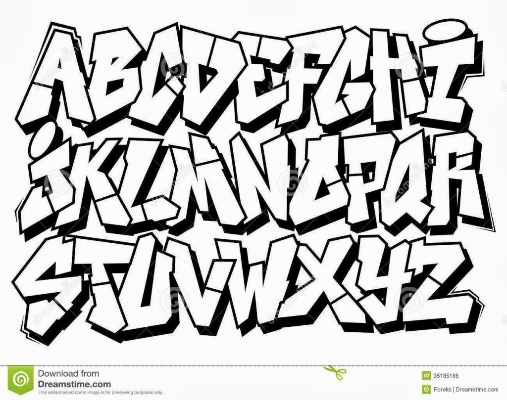 Bubble Graffiti Font Generator
