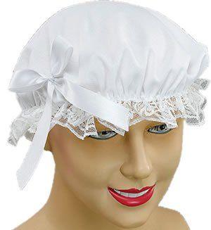White Ladies Victorian Maid Cap