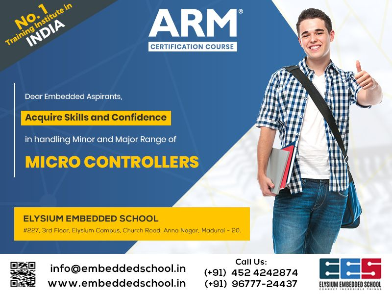 training embedded courses systems arm certification