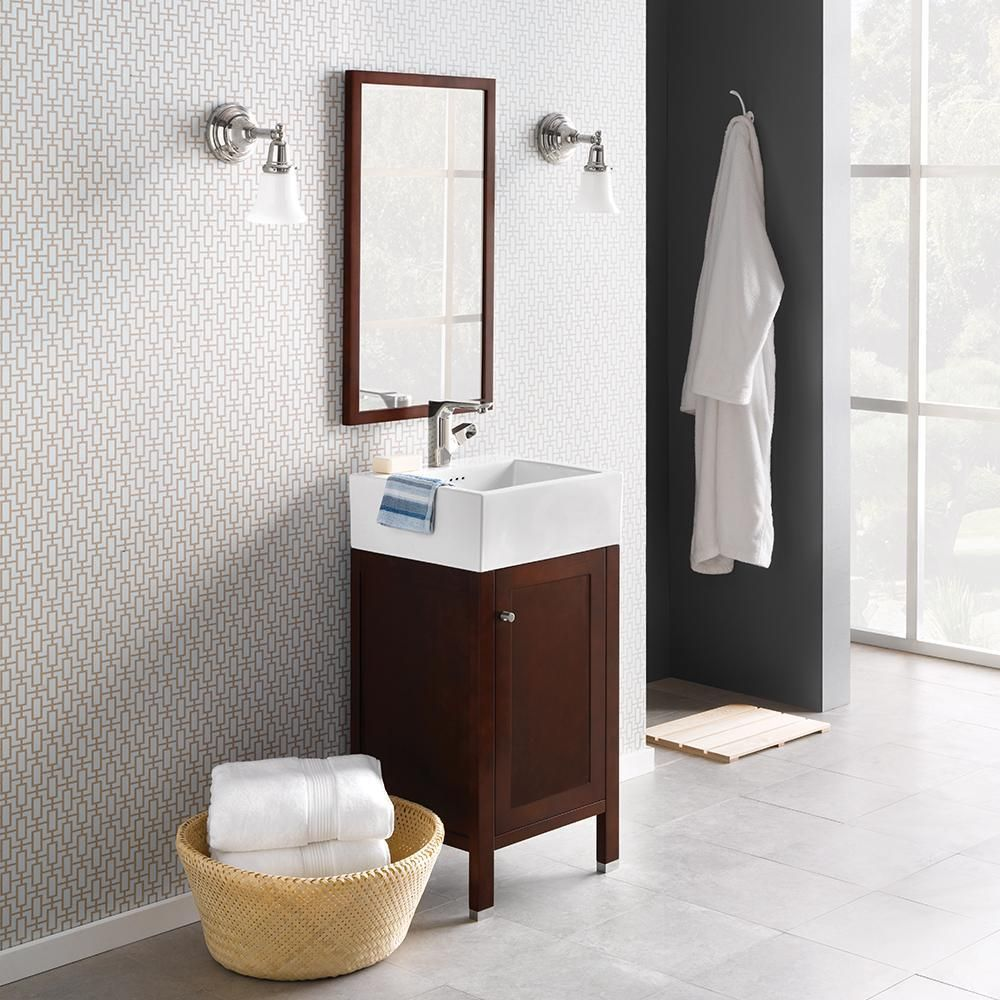 The Cami Bathroom Vanity S E Saving Design Is Perfect For Compact Modern With Clean Straight Lines And A Slim Frame Accented By