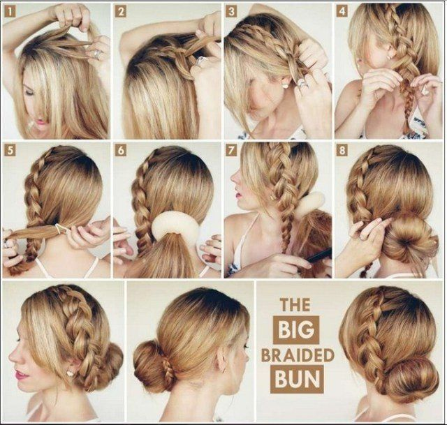Hair Styles For Girls 10 Awesome Hairstyles For Lazy Girls  Pinterest  Lazy Girl Beauty