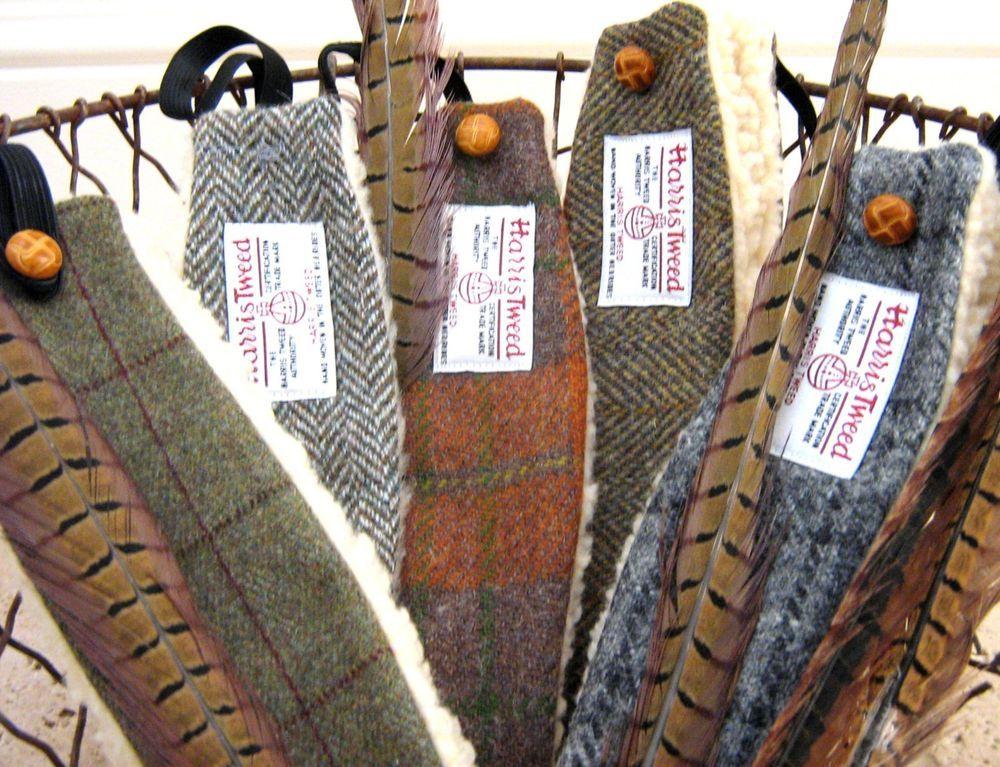Harris Tweed- Ear-warmer  Headbands- Mixed colours and patterns ... d72d26651fc
