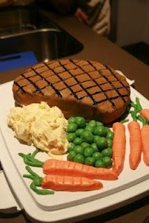 Excellent Steak Cake Crazy Birthday Cakes Cake For Husband Cake For Funny Birthday Cards Online Inifofree Goldxyz
