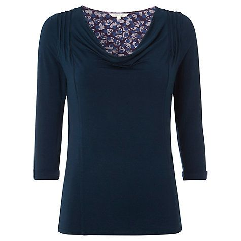 White Stuff Plain Busy Liz Top, Griffin Teal Online at johnlewis.com £30