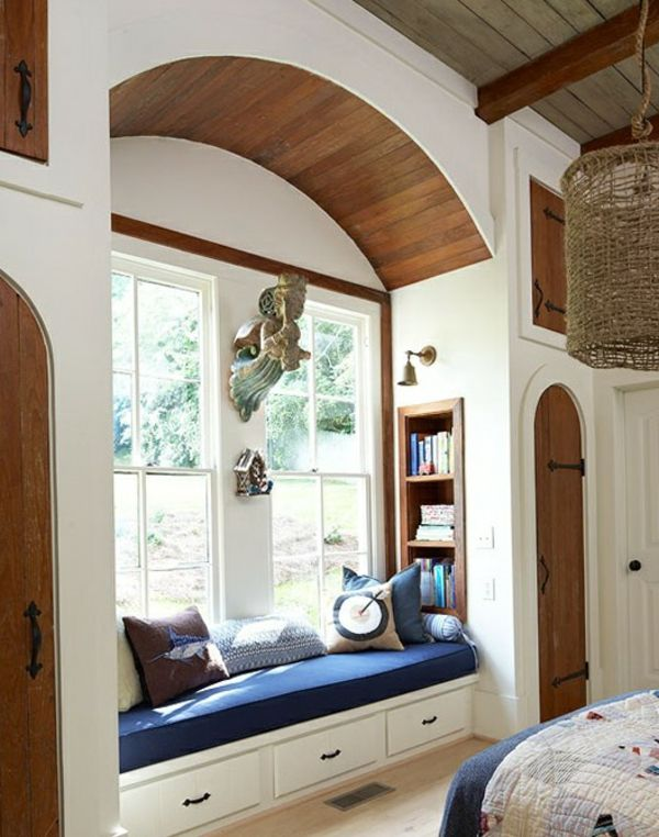erholungsecke schöne wohnideen fensterbank sofa | Home ...