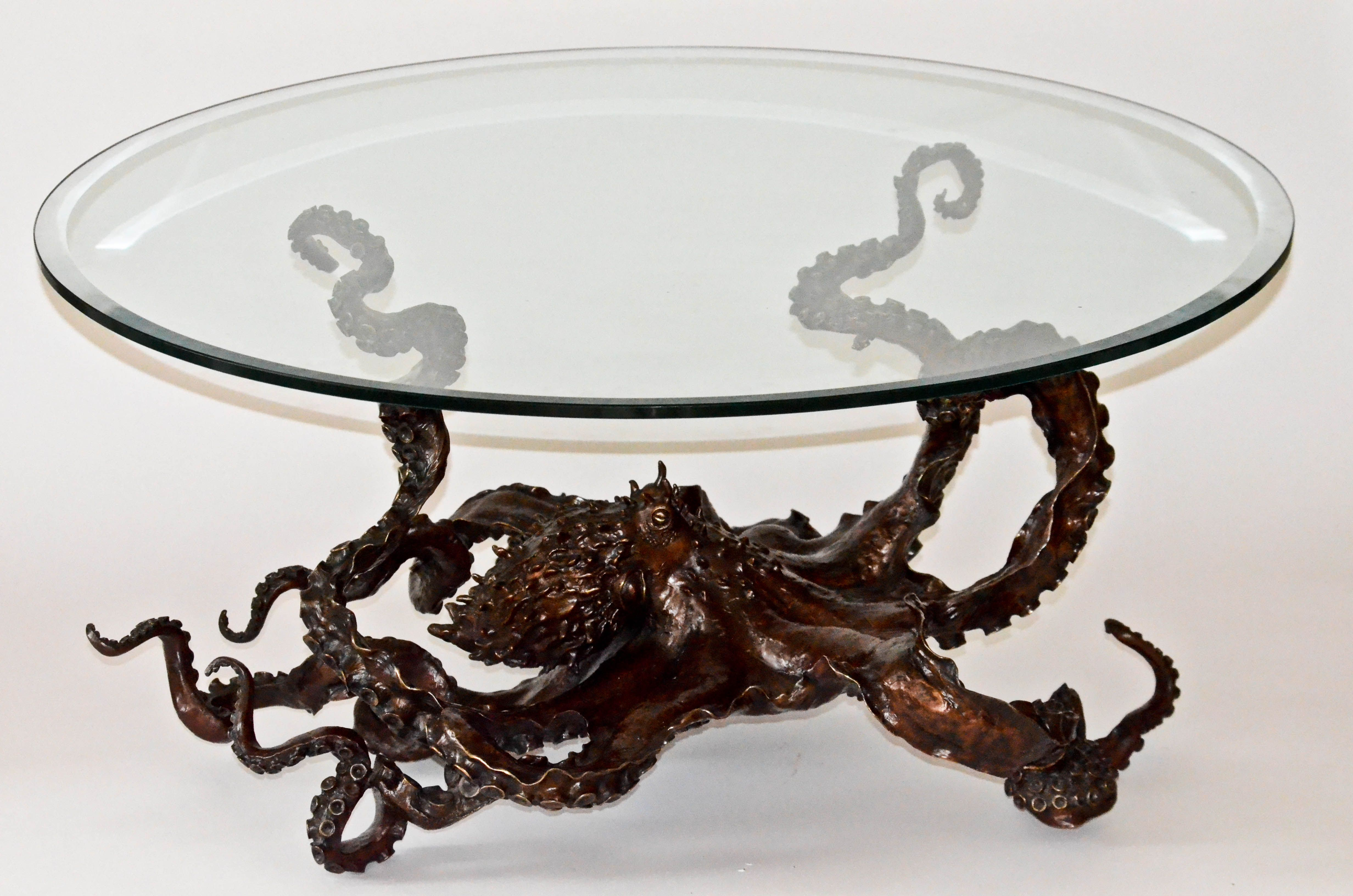 Bear Sculptures Coffe Table For Sale For Sale Cephalopod