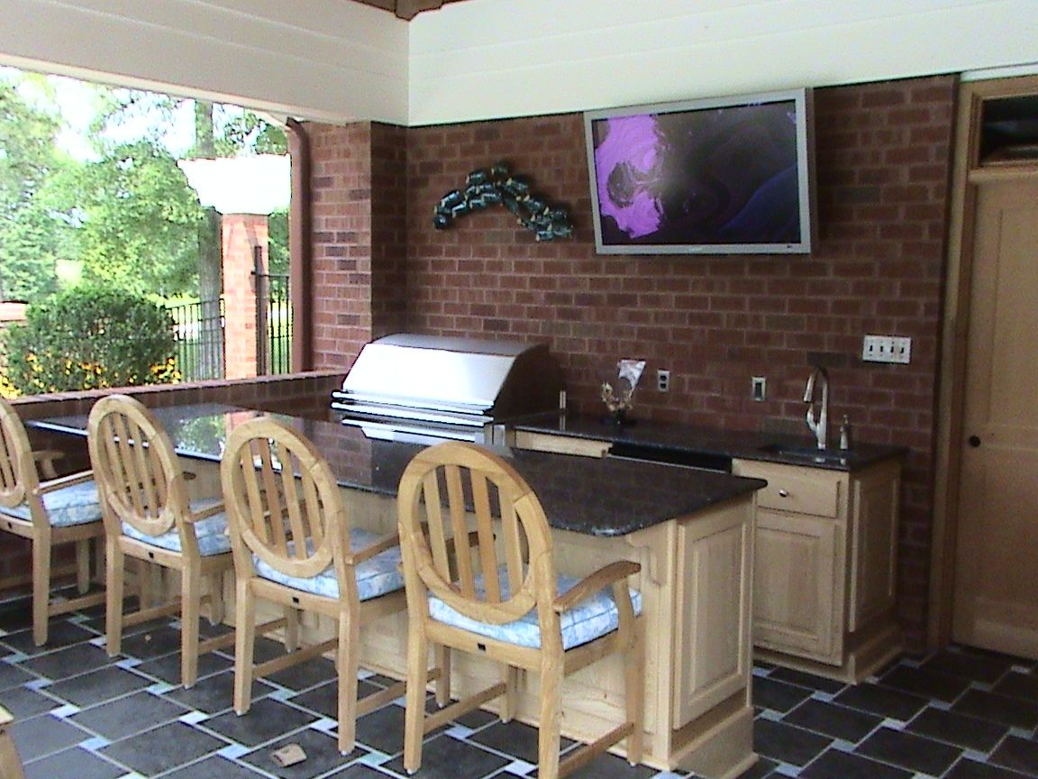 The Backyard Kitchen Design Ideas Is Like The Name Says On The - Outdoor kitchen design with grill