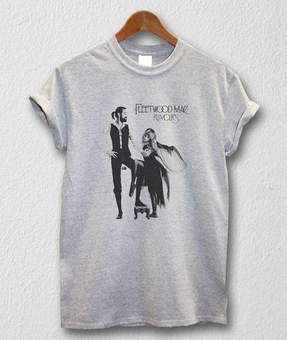 ff0d8b770d0 Fleetwood Mac shirt UK/US Rock T-shirt Unisex Men Women Tshirts Size  S/M/L/XL/2XL