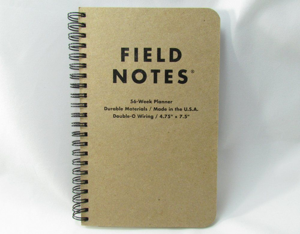 Field Notes 56 Week Planner 960x751 13 Planners and Organizers to Get Your Life On Track