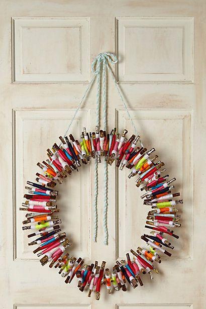 Cozy Kindling Wreath - anthropologie.com | Christmas | Pinterest ...