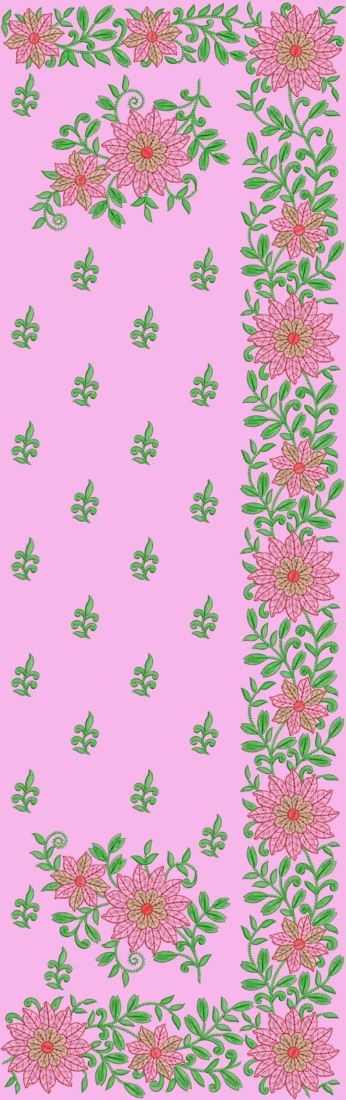 Hand Embroidery Saree Designs Michaelieclark