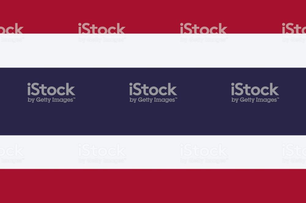 Thailand Vector Flag The Flag Of Kingdom Of Thailand Trairanga Vector Free Vector Art Flag
