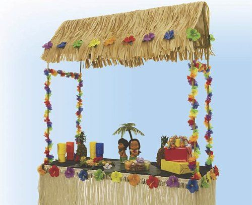 Merveilleux Tabletop Tiki Hut 55 Inches X 22 Inches X 56 Inches Shindigz,http:/
