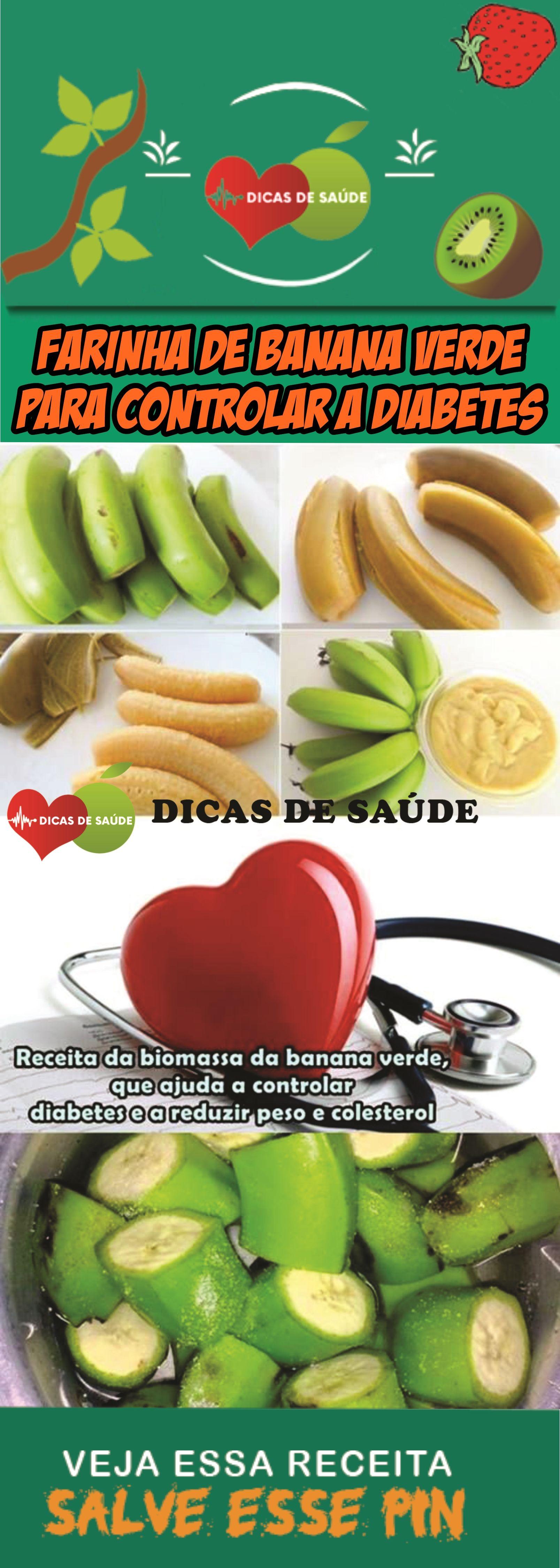 Farinha De Banana Verde Para Controlar A Diabetes Banana