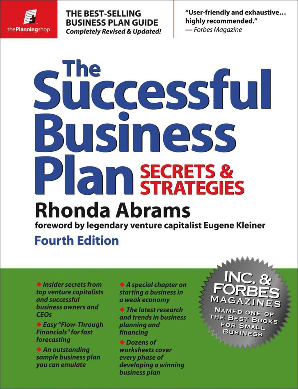 The Successful Business Plan Secrets and Strategies