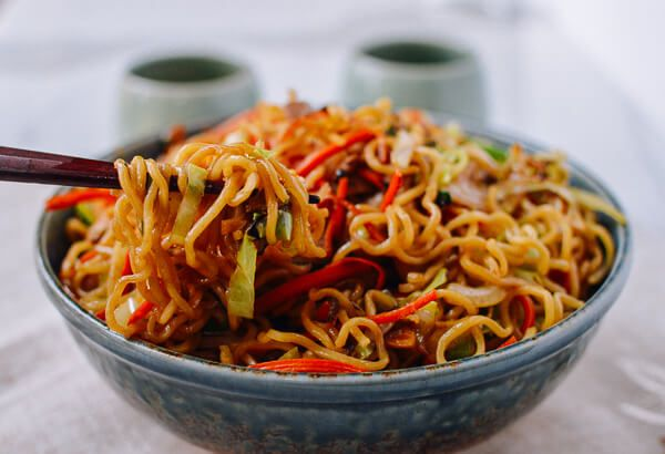 Chicken yakisoba recipe chicken yakisoba asian and noodle chicken yakisoba forumfinder Gallery