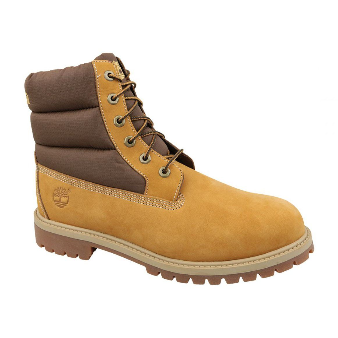 Children S Sports Shoes For Children Innamarka Timberland 6 In Quilit Boot Jr C1790r Winter Boots Brown Winter Boots Boots Brown Boots
