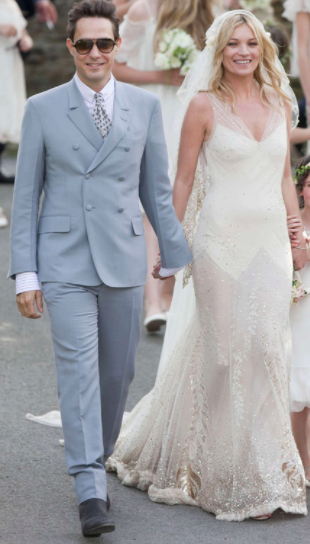 Vestito Da Sposa Kate Moss.Abiti Da Favola I Vestiti Da Sposa Delle Star Abiti Da Sposa
