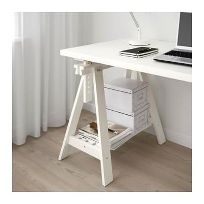 Risultati immagini per cerco tavolo bianco con cavalletti di ...