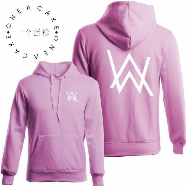 4cfa7a6b2 purpose tour Winter Fleece Sweatshirt Alan Walker Faded Hoodie Men Sign  Printing Hip hop Rock Star sweatshirt pink hoodies men