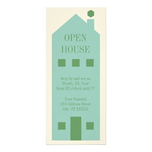 Open House Party Invitation Template 4 - housewarming invitation template
