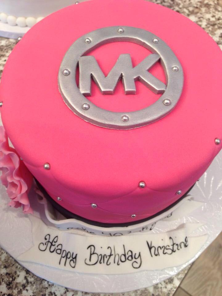 My Michael Kors birthday cake 2014 Yummies in my tummy Pinterest