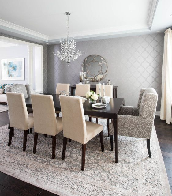 Transitional Dining Room Furniture: 19 Graceful Dining Room Designs To Serve You As