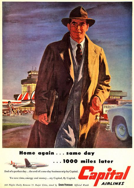 1951 ... from plane to car! | all images/posts are for educa… | Flickr