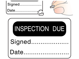 Inspection Due Label Ca10331 Label Source In 2020 Labels Adhesive Vinyl Adhesive
