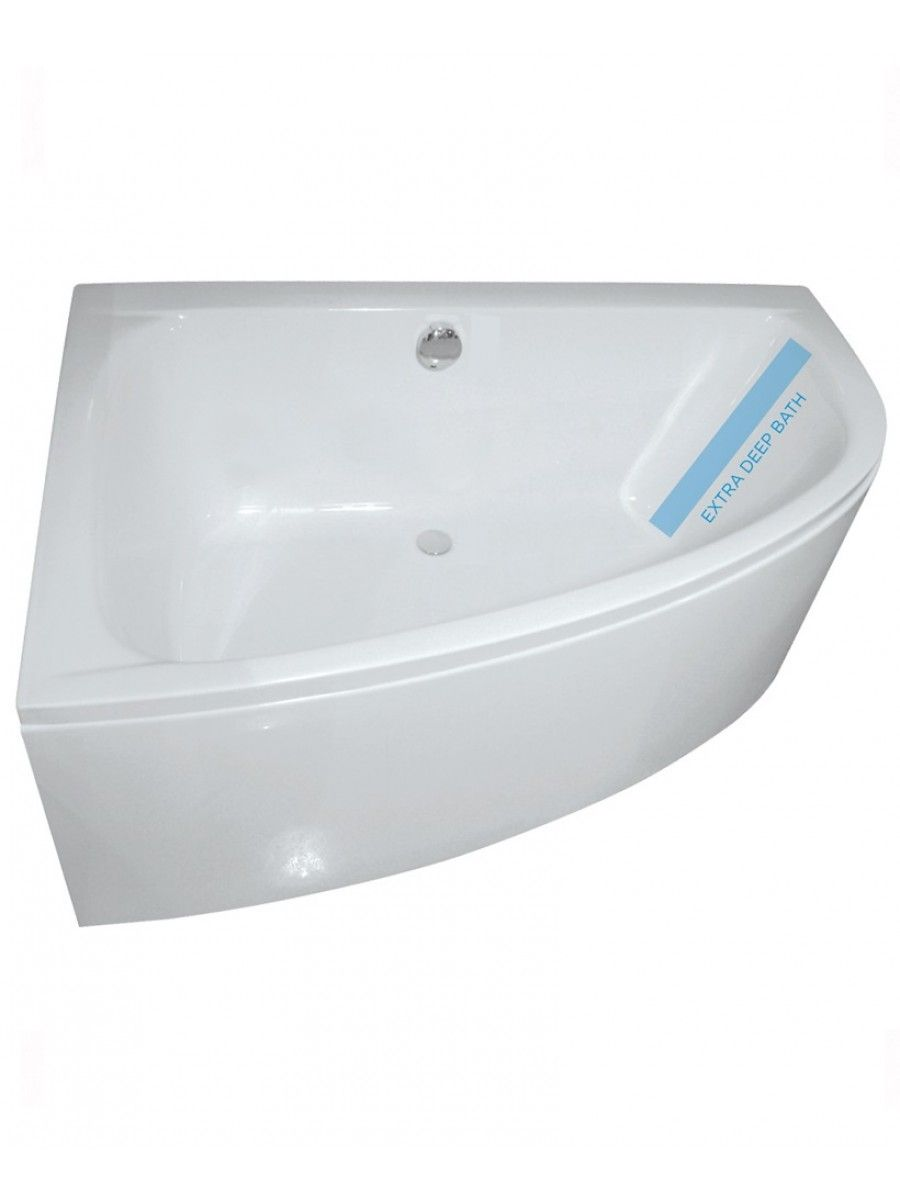 Mayfair 1500 x mm Offset Corner Bath Left Hand Bath Panel