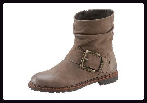 SPM 17535781 Seiko Schuhe Damen Stiefeletten (36, braun) - Stiefel für frauen (*Partner-Link)