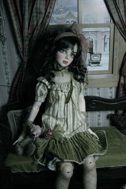 porcelain doll halloween costume idea