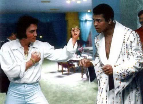 Elvis versus Muhammad Ali