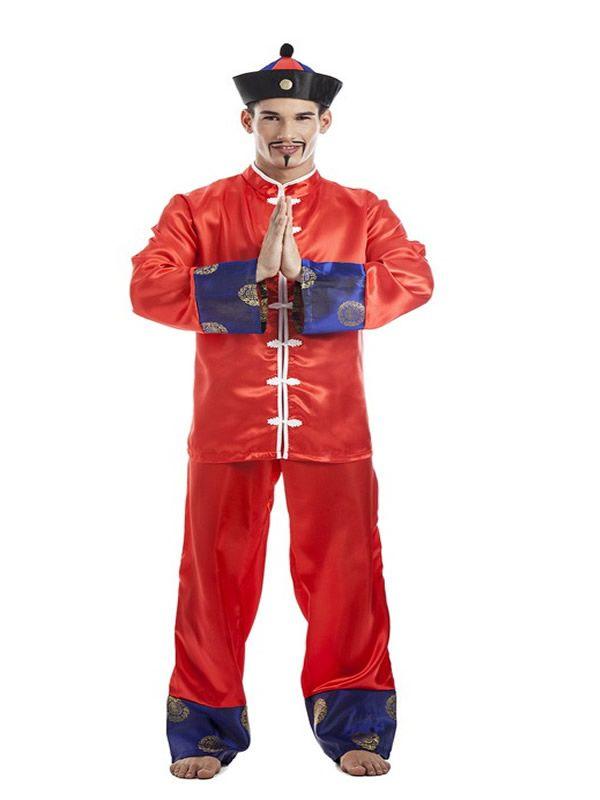 El disfraz de chino oriental hombre bcdbf234de2